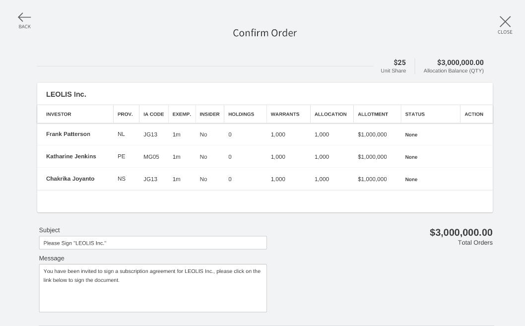 Katipult Managed Subscriptions Screenshot
