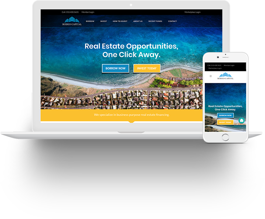 One Click Loan >> Rodeo Capital Real Estate Private Lending Loans One Click Away