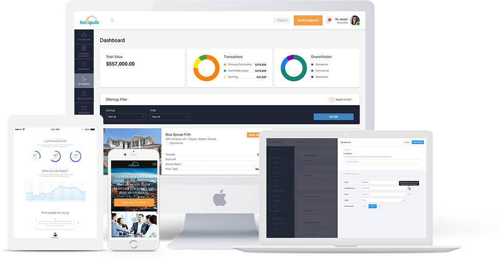 Investment Management & Crowdfunding Software - Made for You