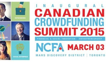 Business Leaders to Converge in Toronto on March 3rd for Crowdfunding Summit – What's at Stake?