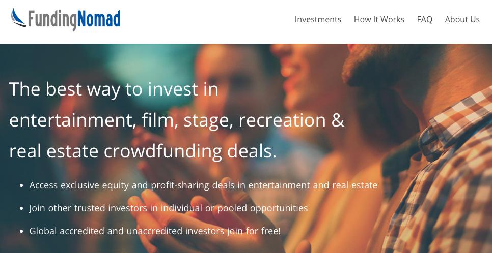 FundingNomad - Platform of the Month