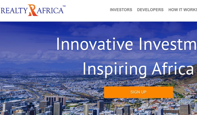 Platform of the Month - Realty Africa