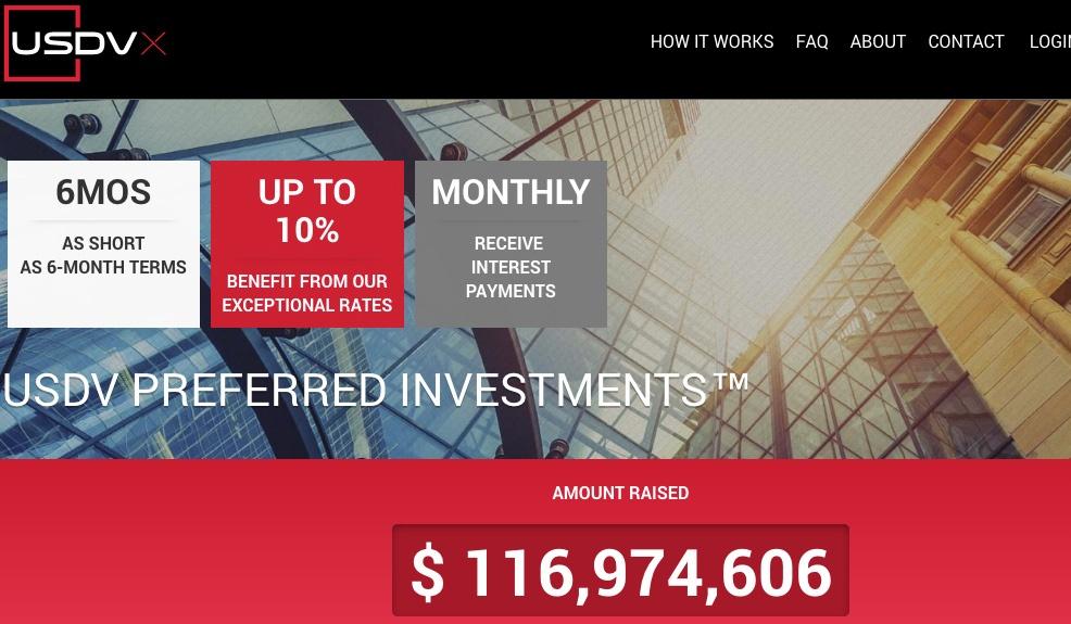 Platform of the Month - US Debt Ventures (USDV)